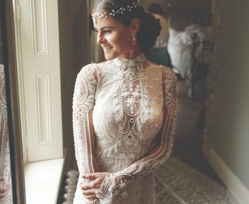 Galia Lahav Bride of the Week : Jade Holland Cooper-Photographed by Bradley Carranceja- Dress Gala 805