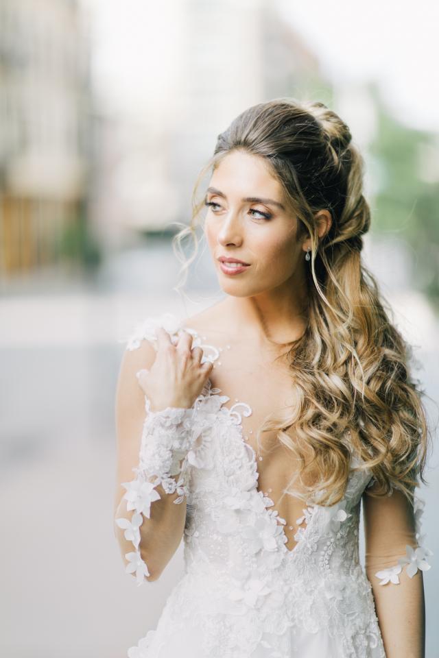 Galia Lahav Bride of the week Kelly Goldstein
