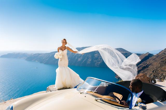 Our Bride of the Day Dr. Essie Yates wedding gown