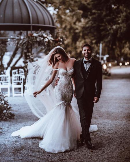 Galia Lahav -From a mermaid wedding dress to the perfect location, this is everything you need in order to pull off a fairytale wedding
