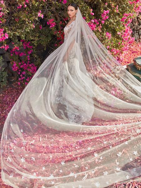Galia Lahav Customized Wedding Veil - Coco veil