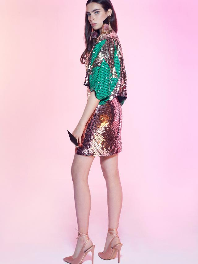 Galia Lahav - Night Flare - Encore Kimono Green