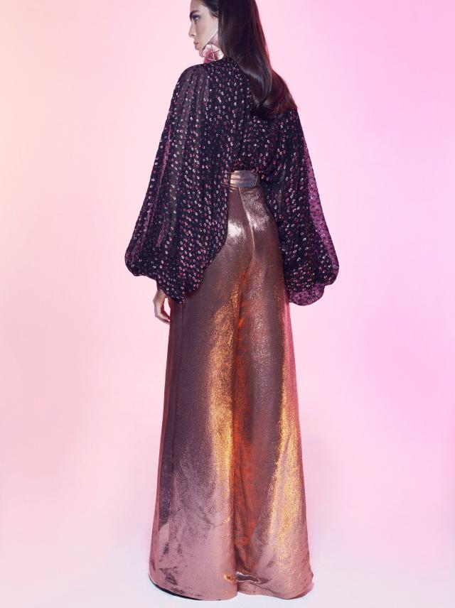 Galia Lahav - Night Flare - Nobo X Top and Nomad Pants