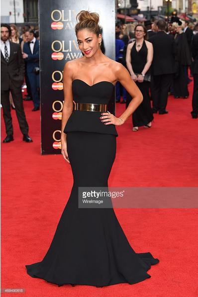 Nicole Scherzinger Red Carpet Look