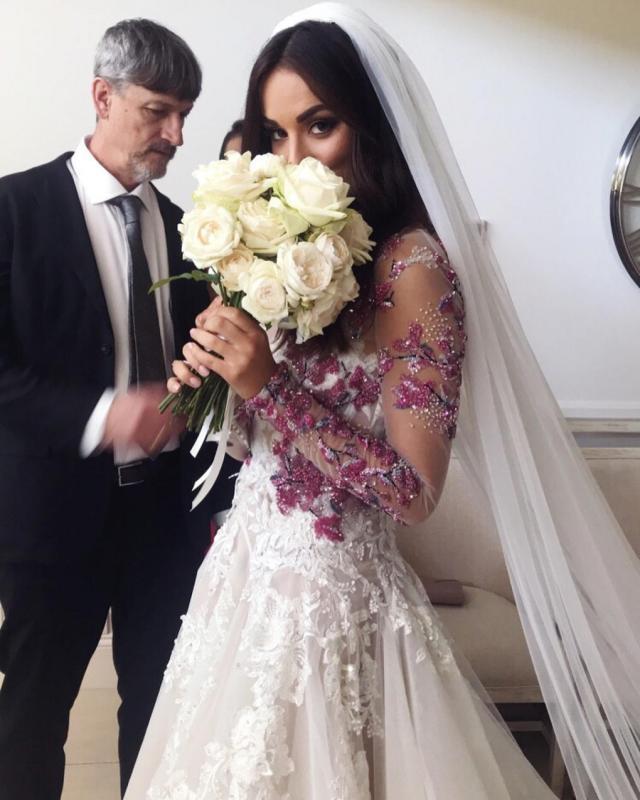 Monika Radulovic Wedding - Galia Lahav
