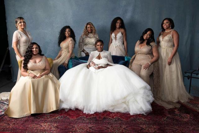 Serena Williams's Bridesmaid Dresses - Galia Lahav