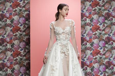 Galia Lahav Thea Couture Bridal Dresses and Train