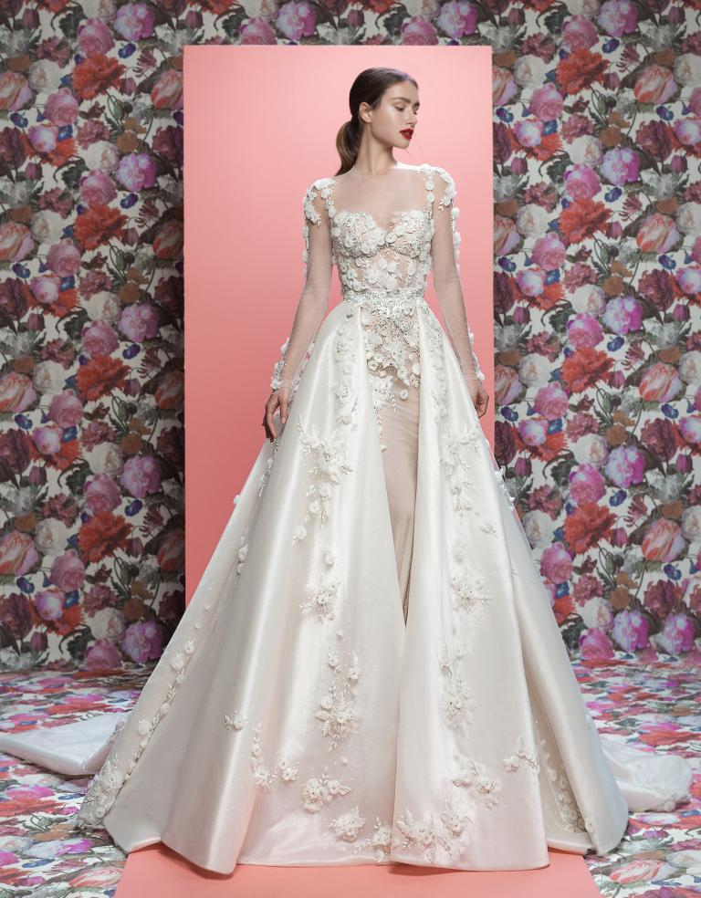 galia lahav thea couture bridal dress with thea train