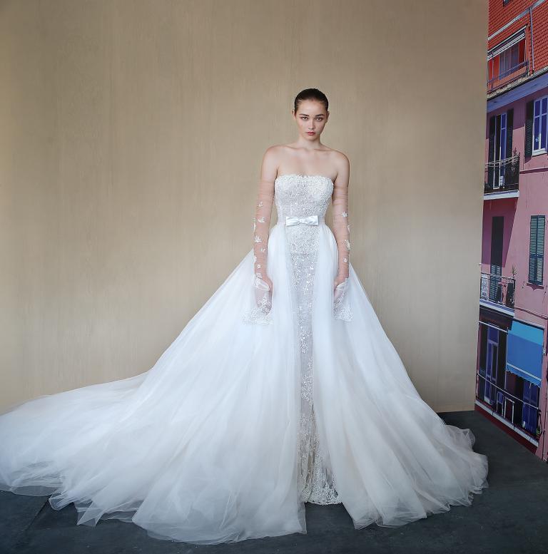 galia lahav alba couture bridal dress and bianca skirt