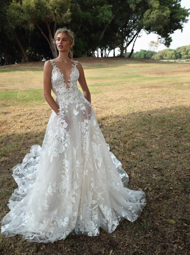 G 210 Collection No Vii Bridal Dresses Galia Lahav