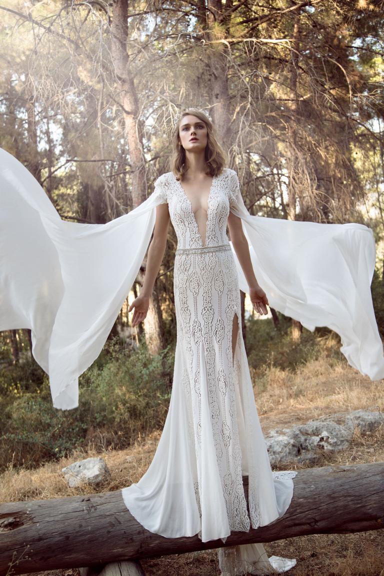 15 Boho Wedding Dresses For A Goddess Galia Lahav,Plus Size Older Bride Wedding Dresses
