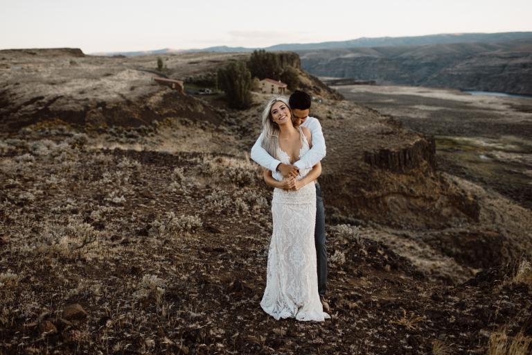 Bride Of The Week: Taina Brockway