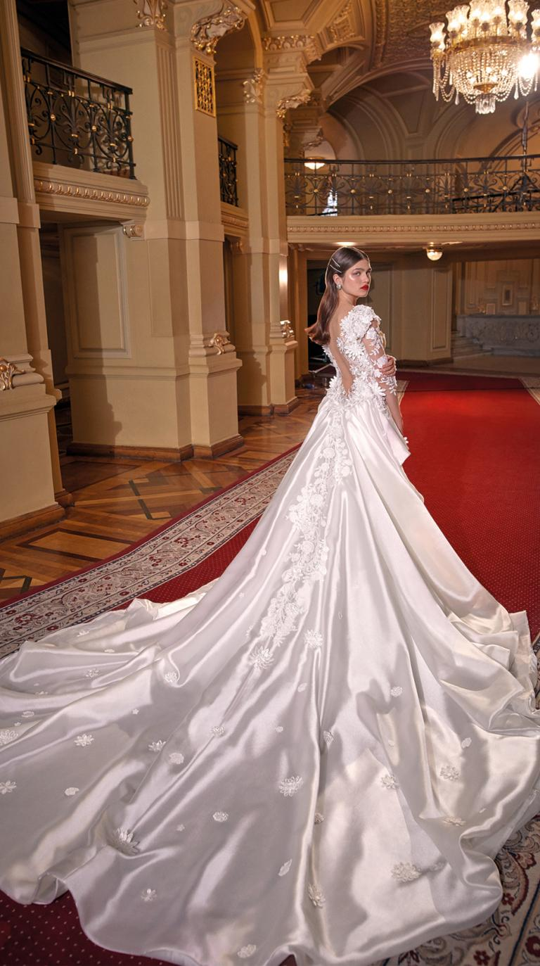 Bridal Couture Collection No. 14 - Make a scene - Lindsey-Train