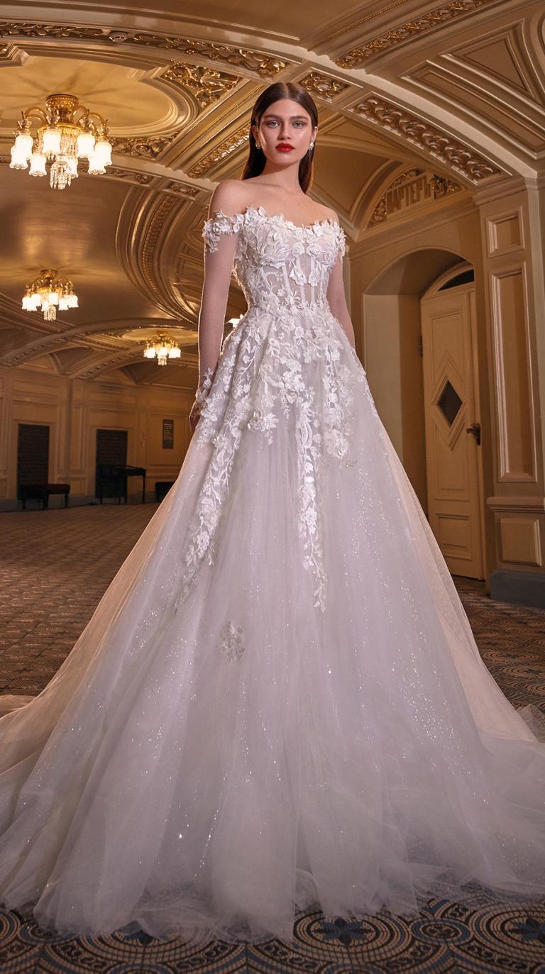 Bridal Couture Collection No. 14 - Make a scene -Lynn-F