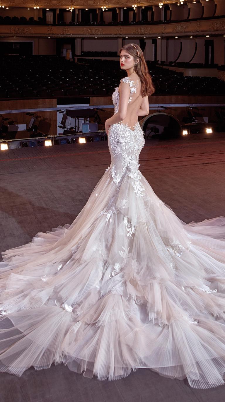 Bridal Couture Collection No. 14 - Make a scene - Sally-Train
