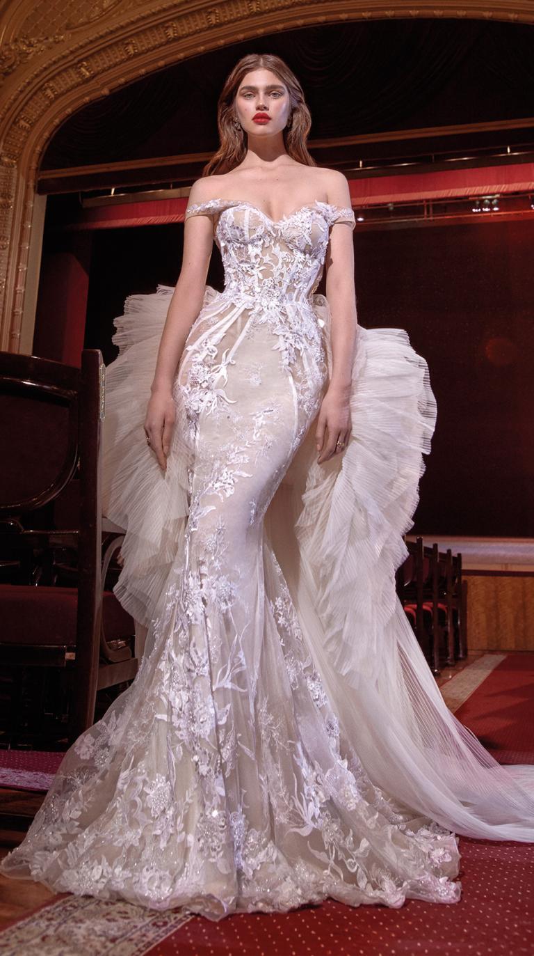 Bridal Couture Collection No. 14 - Make a scene - Serena-Train