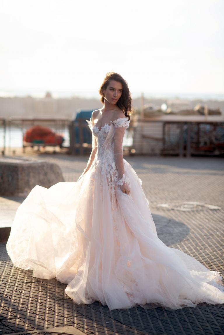 Our Top Tulle Wedding Dresses   Galia Lahav