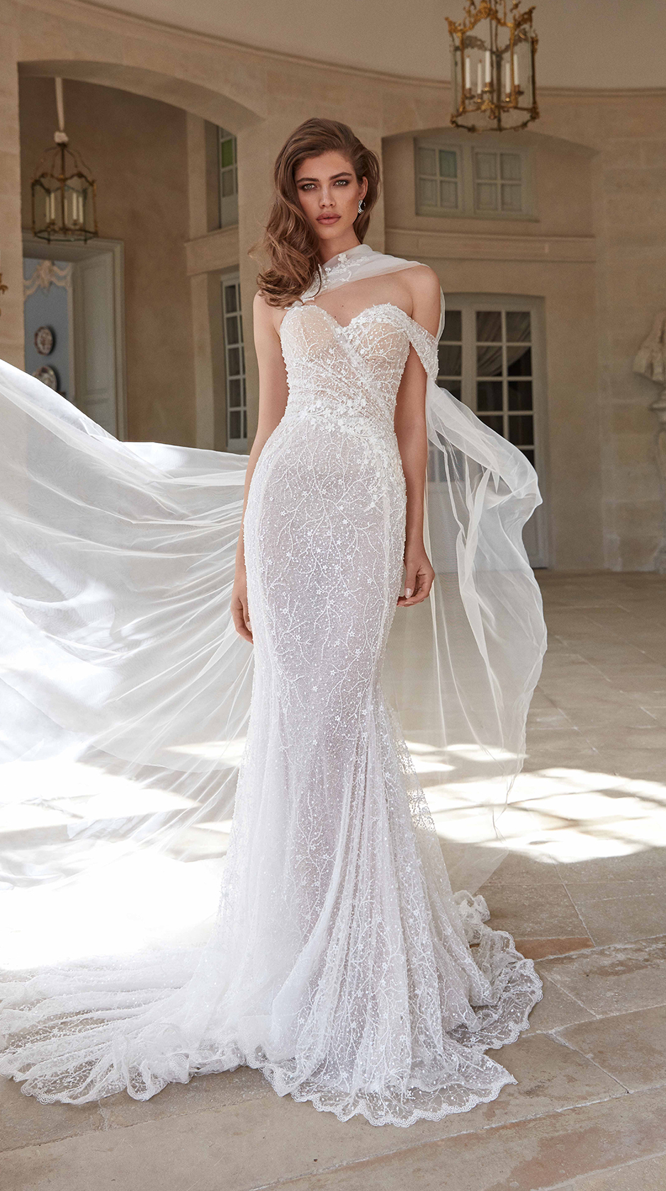 Simone   Fancy White   Bridal Dresses   Galia Lahav