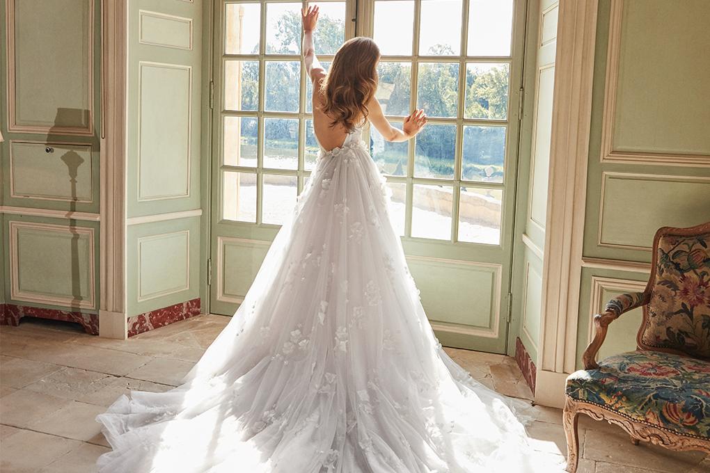 princess diana wedding dress train length