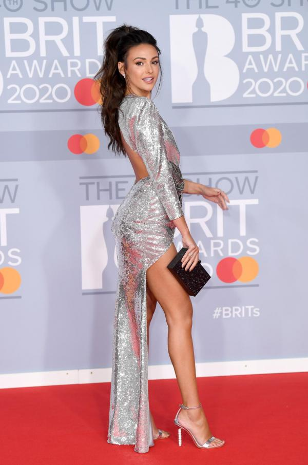 Michelle Keegan brit awards 2020