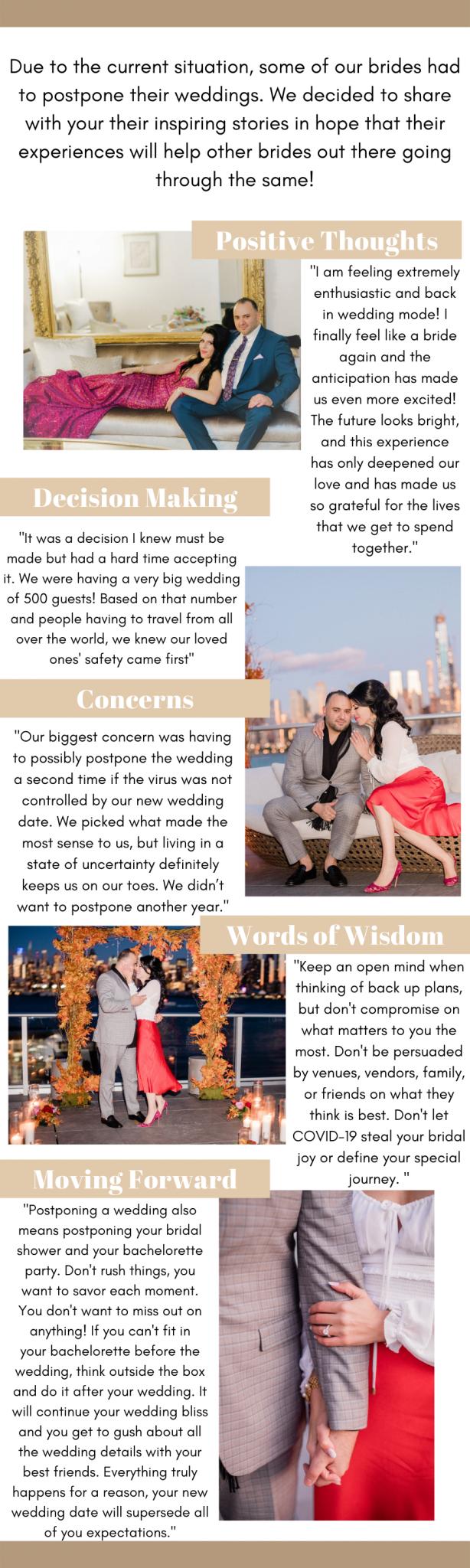 Corona bride blog post