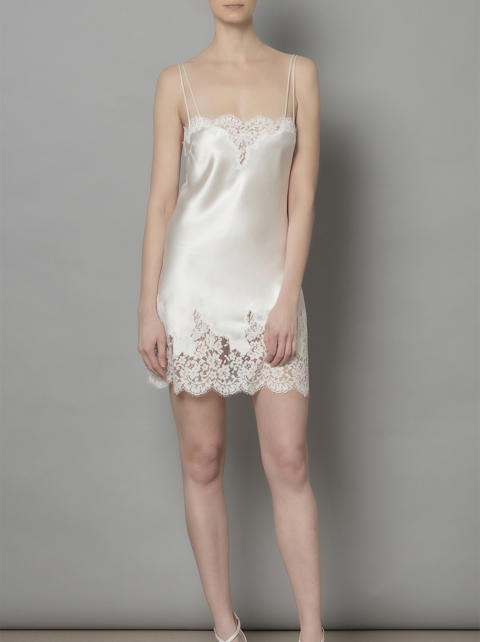 Lucie Mini Slip Dress F