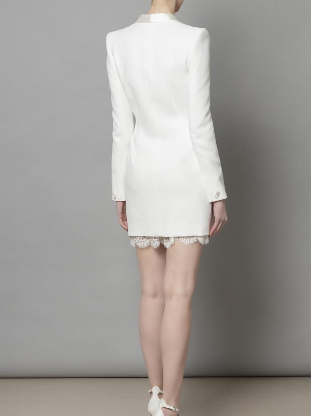 Lucie Mini Slip Dress + Jacket