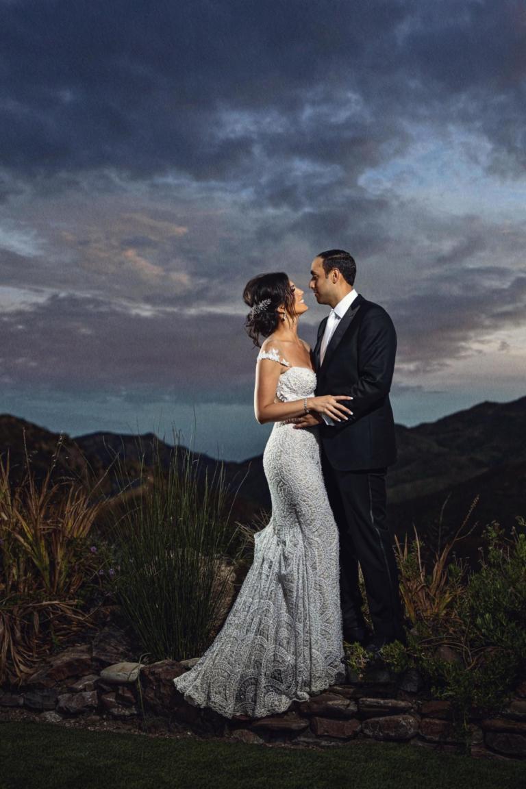 Christina Castellano's Elegant Garden Wedding